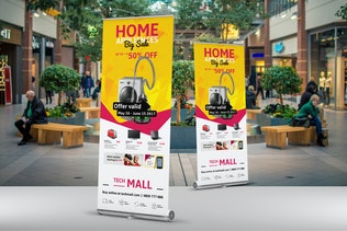 Thumbnail for Retail Roll-Up Banner
