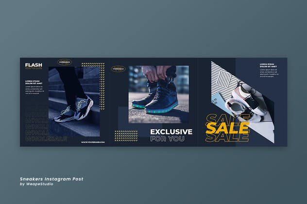 Sneakers Instagram Post Template - product preview 2