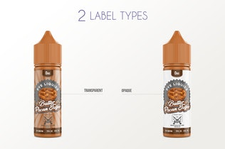 Thumbnail for eLiquid Bottle Mockup v. 50ml-A