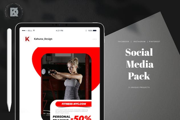 Social Media Pack - product preview 4