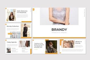 Thumbnail for Brandy - Keynote Template