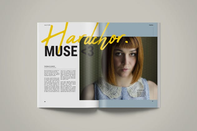 Magazine Template | Petrichor - product preview 2