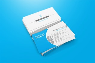 Thumbnail for 90x50 Business Card Mockups
