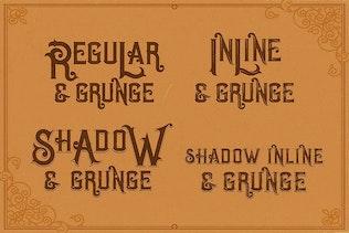 Thumbnail for Opera Vintage Typeface