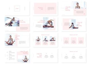 Thumbnail for Yooga Powerpoint Templates