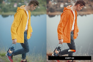 Thumbnail for 50 Pumpkin Orange Lightroom Presets and LUTs