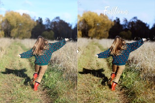 Thumbnail for Falltime Photoshop Actions