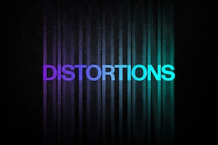 Thumbnail for Color Distortion Text Effect