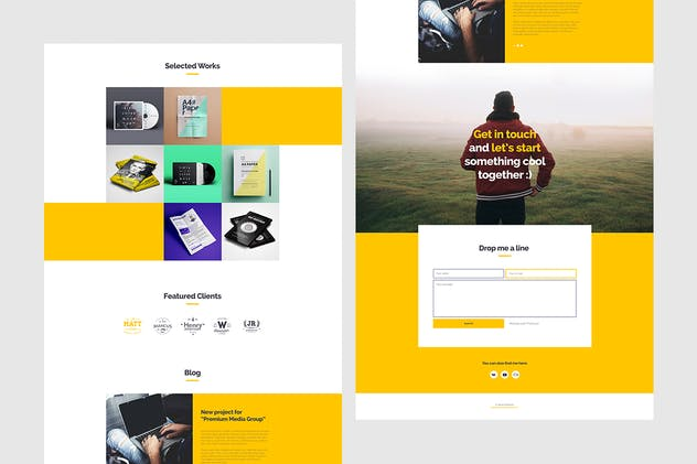 Anda - Multipurpose Portfolio Muse Template - product preview 0