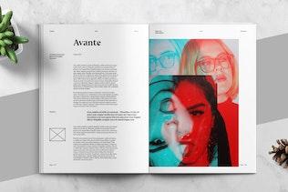 Thumbnail for AVANTE - Art Magazine Template
