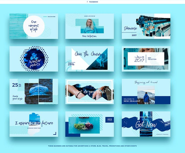 Blue Sky Social Media Designs - product preview 5