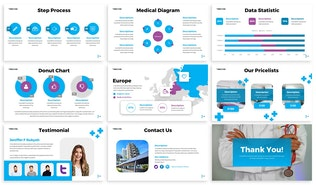 Thumbnail for Tibbicine - Healthcare Google Slides Template