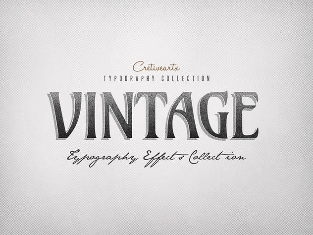 Vintage/Retro Text Effects 7 - product preview 4