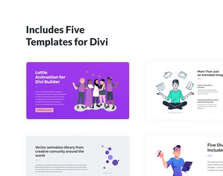 Thumbnail for Lottie Animated Images for Divi Builder