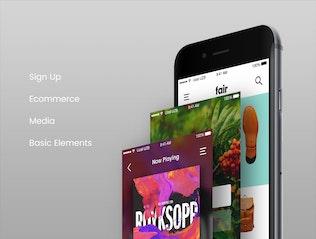 Thumbnail for Fair Mobile UI Kit