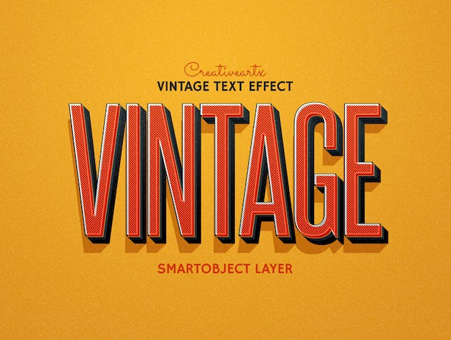 Vintage Retro Text Effects - product preview 2