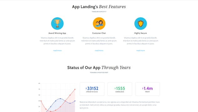 App Promotion   One Page App Promotion Theme - product preview 7