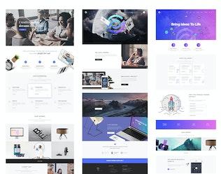 Thumbnail for Optima - Creative Multipurpose PSD Template