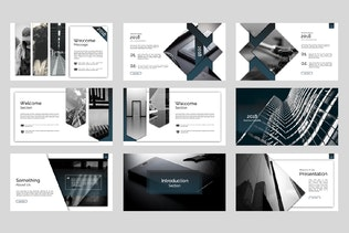 Thumbnail for Exclusive Keynote Template