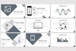Миниатюра для Взрыв — бизнес-Шаблон Powerpoint