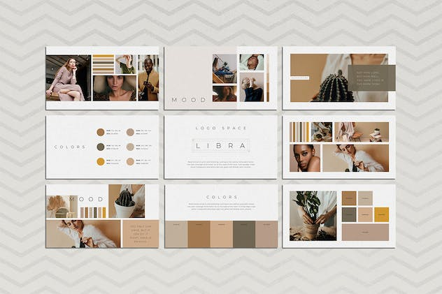 Libra Google Slides Brand Guidelines - product preview 1