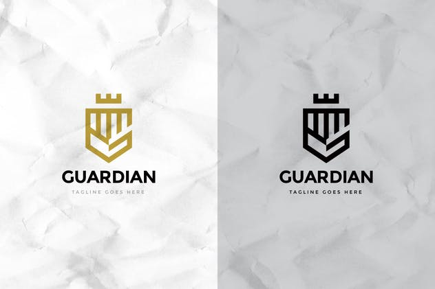 Guardian Logo Template