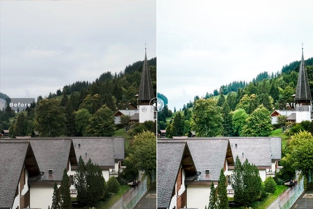 Wengen Mobile & Desktop Lightroom Presets - product preview 3