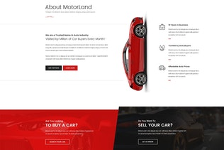 Thumbnail for MOTORLAND - Car Dealer Template
