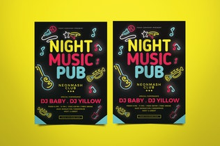 Thumbnail for Music Pub Flyer