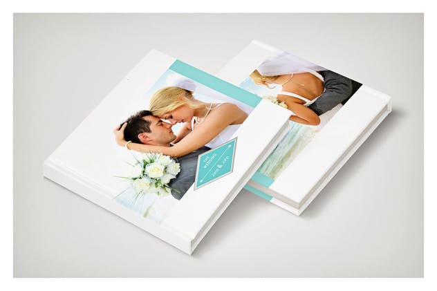 PSD - Minimalist Wedding Album