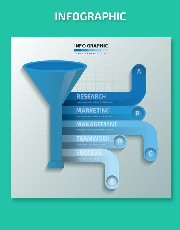 Funnel Infographics-Design - product preview 1