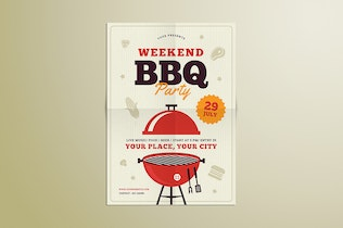 Thumbnail for Barbeque Party Flyer