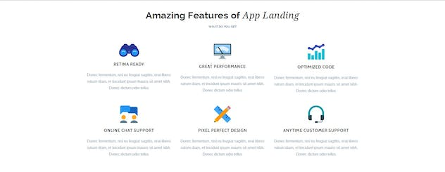 App Promotion   One Page App Promotion Theme - product preview 10