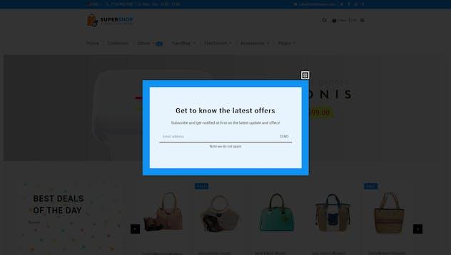 Super Shop | Multipurpose, MultiStore Shopify - product preview 11