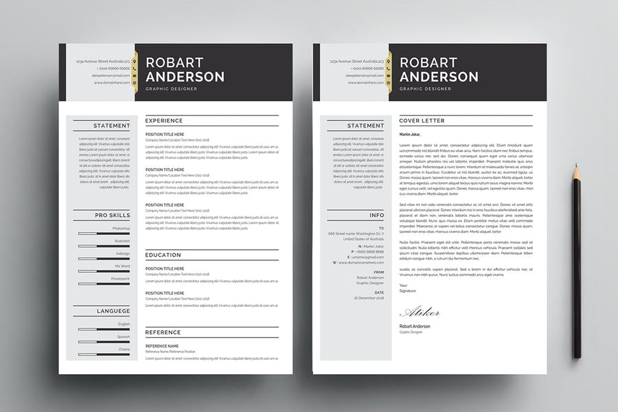 Resume Template 120 - product preview 2