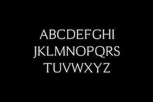 Miniatura para Cheston Slab Con serifa - Juego de familia de fuentes
