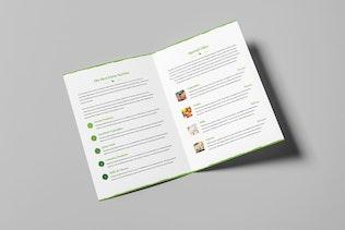 Thumbnail for Organic Food – Bundle Print Templates