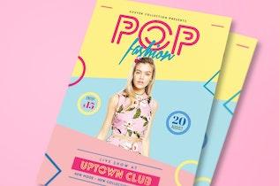 Thumbnail for Pop Fashion Flyer