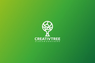Thumbnail für Creative Tree Logo