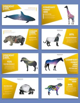 Миниатюра для Шаблон презентации Powerpoint китов