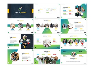 Thumbnail for Start Up - Powerpoint Template
