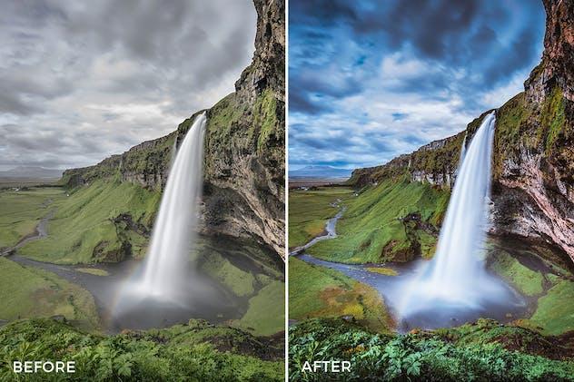 Landscape Lightroom Presets - product preview 2
