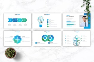 Thumbnail for SATURN - Business Powerpoint Template
