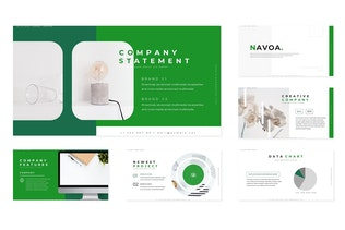 Thumbnail for Navoa - Keynote Template