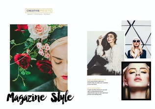 Thumbnail for Editorial / Magazine Lightroom Presets