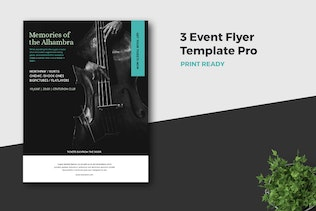 Thumbnail for Event Flyer Template Pro