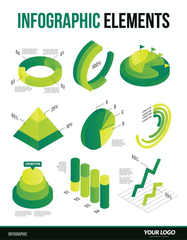 Infographic Examples for Designer V.62 - product preview 0