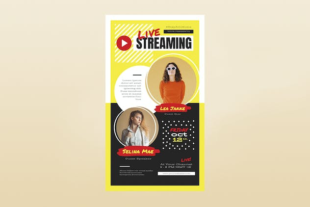 Live Streaming Template Set - product preview 2
