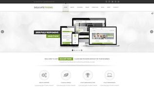 Thumbnail for Delicate - Responsive Multipurpose HTML5 Template