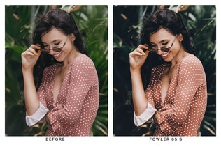 Thumbnail for 20 Tropical Lightroom Presets and LUTs